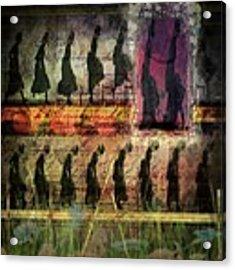 Body In Motion Acrylic Print by Delight Worthyn