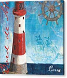 Bord De Mer Acrylic Print by Debbie DeWitt