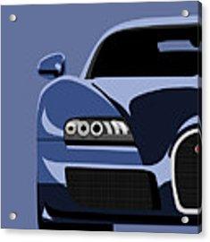 Bugatti Veyron Acrylic Print