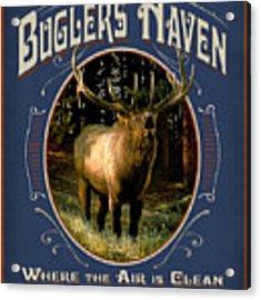 Buglers Haven Sign Acrylic Print