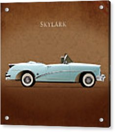 Buick Skylark 1954 Acrylic Print