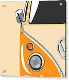 Camper Orange Acrylic Print