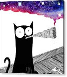Catnip  Acrylic Print