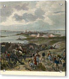 Charleston 1780 Acrylic Print by Granger