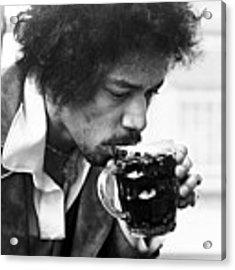 Jimi Hendrix Cheers 1969 Acrylic Print