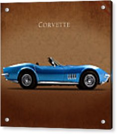 Chevrolet Corvette Stingray Acrylic Print