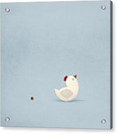 Chicken Little Acrylic Print by Christian Jackson