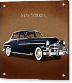 Chrysler New Yorker 1949 Acrylic Print