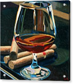 Cigars And Brandy Acrylic Print