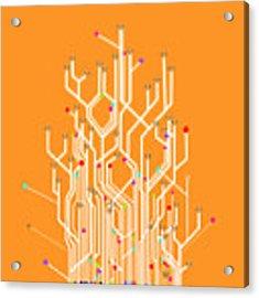 Circuit Board Graphic Acrylic Print