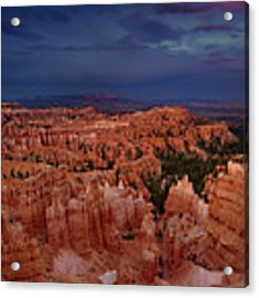 Clearing Storm Over The Hoodoos Bryce Canyon National Park Acrylic Print by Dave Welling