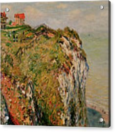 Cliff At Dieppe Acrylic Print