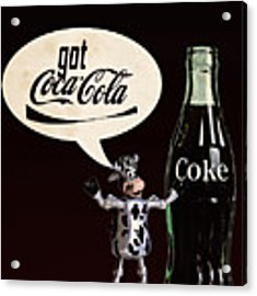 Coca-cola Forever Young 18 Acrylic Print by James Sage