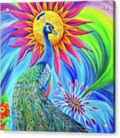 Colors Of His Splendor Acrylic Print by Nancy Cupp