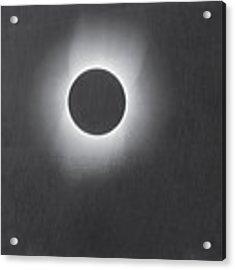 Corona Of The Sun During A Solar Eclipse Acrylic Print by Artistic Panda