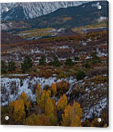 Dallas Peak II Acrylic Print by Gary Lengyel