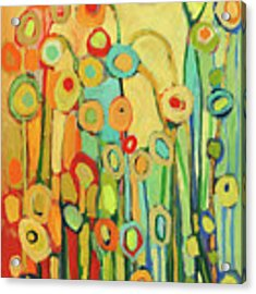 Dance Of The Flower Pods Acrylic Print