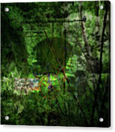 Delaware Green Acrylic Print by Richard Ricci