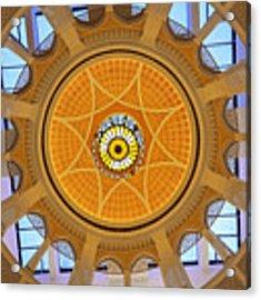 Dubai Mall Dome  Acrylic Print by Juergen Held