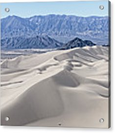 Dumont Dunes 18 Acrylic Print by Jim Thompson