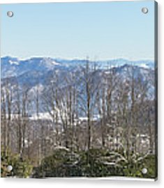 Easterly Winter View Acrylic Print by D K Wall