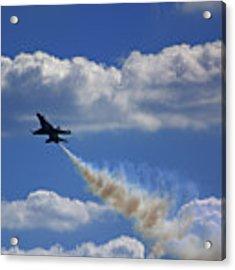 F-18 Acrylic Print by Raymond Salani III