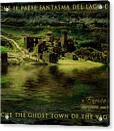 Fabbriche Di Vagli Paese Fantasma Ghost Town 6 Acrylic Print by Enrico Pelos