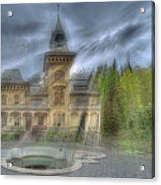 Fairytale Villa - Villa Delle Fiabe Acrylic Print by Enrico Pelos