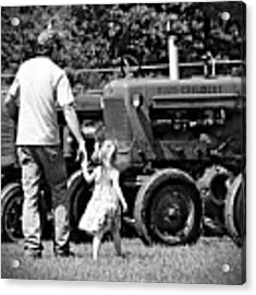 Father/daughter Day Acrylic Print by Rick Morgan
