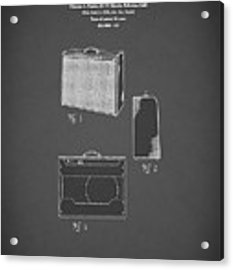 Fender Amp 1962 Acrylic Print by Mark Rogan