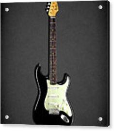 Fender Stratocaster 59 Acrylic Print by Mark Rogan