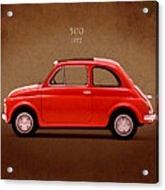 Fiat 500 R 1972 Acrylic Print