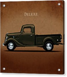 Ford Deluxe Pickup 1937 Acrylic Print