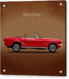 Ford Mustang 289 Acrylic Print