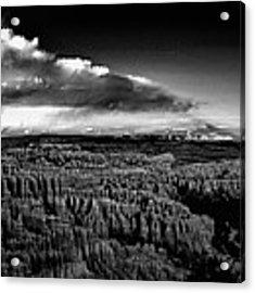 Full Moon Rise Over Bryce Acrylic Print by Raymond Salani III