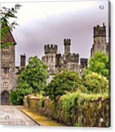 Gardens At Lismore Castle Acrylic Print by Claudia Abbott