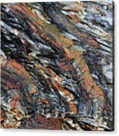 Geologica II Acrylic Print by Julian Perry