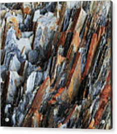 Geologica IIi Acrylic Print by Julian Perry