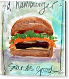 Good Burger Acrylic Print
