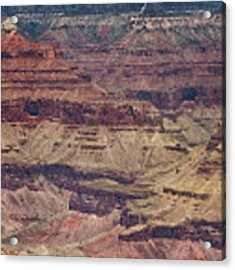 Grand Canyon Orphan Mine Acrylic Print by Susan Rissi Tregoning