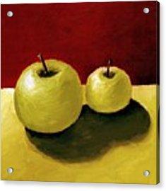 Granny Smith Apples Acrylic Print