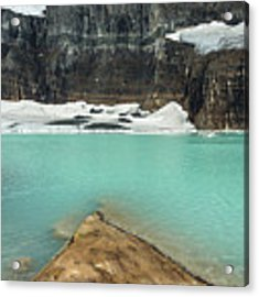 Grinnell And Salamander Glaciers Acrylic Print by Jemmy Archer
