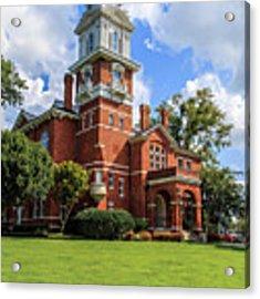 Gwinnett County Historic Courthouse Acrylic Print by Doug Camara