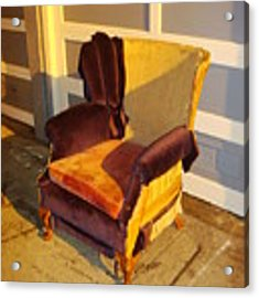 Have A Seat In Dore Alley Acrylic Print by Mr Photojimsf