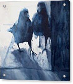 Hierophony And The Crow Acrylic Print