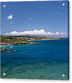 Honolua Bay Acrylic Print by Jim Thompson
