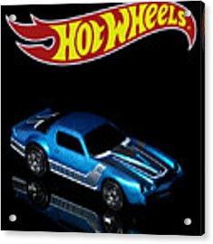 Hot Wheels 67 Pontiac Firebird 400-3 Acrylic Print by James Sage