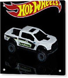 Hot Wheels Ford F-150 Raptor Acrylic Print by James Sage