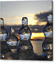 Ice And Water 3 Acrylic Print by Sami Tiainen