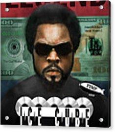 Ice Cube  Acrylic Print by Dwayne Glapion